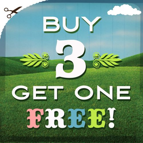 Buy 3 get one free go make me
