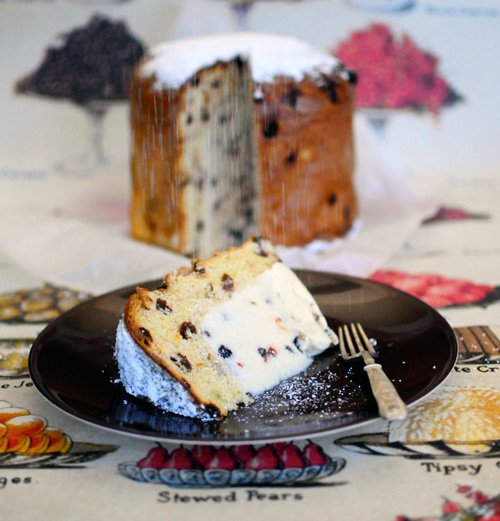 Icecream-in-Panettone-and-kirsch-soaked-berries