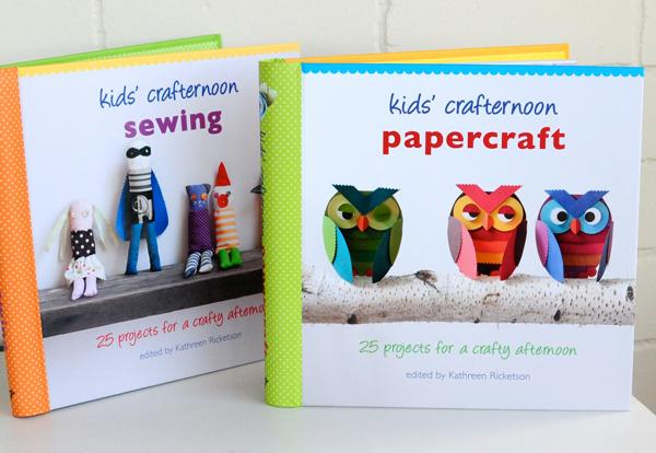 Kids Crafternoon Book Winner And A Citrus Salt Body Scrub Recipe