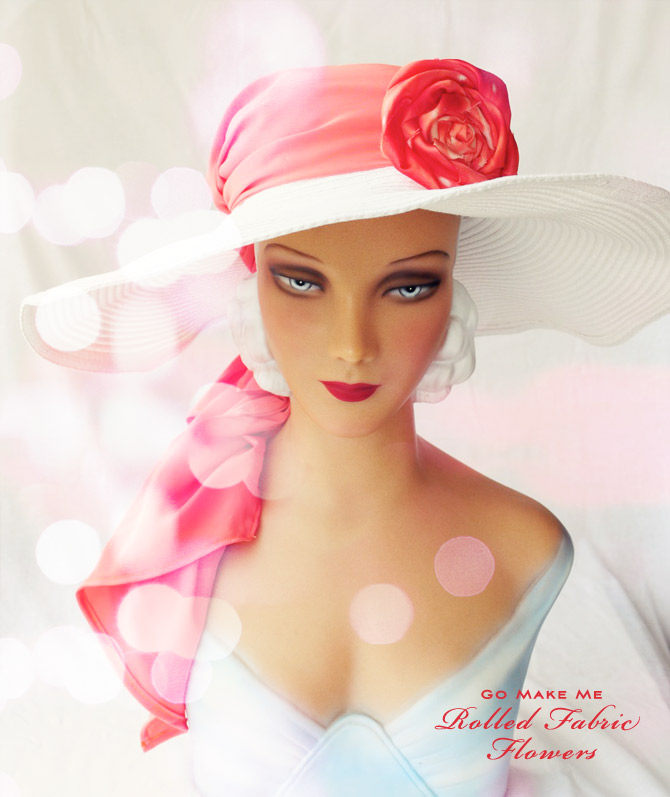 Mannequin-with-flower-hat