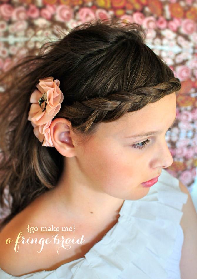 French Braid Headband on Yourself a French Braided Headband