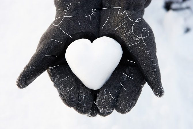 Snow-heart-Love