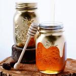 Golden-Honey-bottles