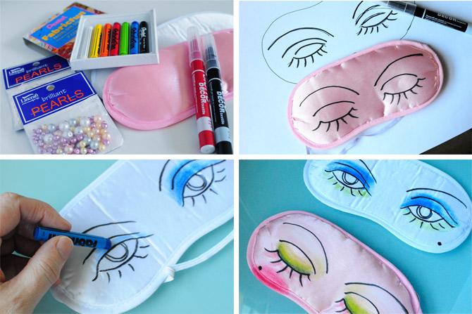 go make me} fun eye mask / diy project - Go Make Me