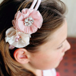 Fabric-Flower-Headband