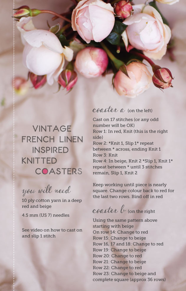 French-Inspired-Knitted-Coasters-Pattern