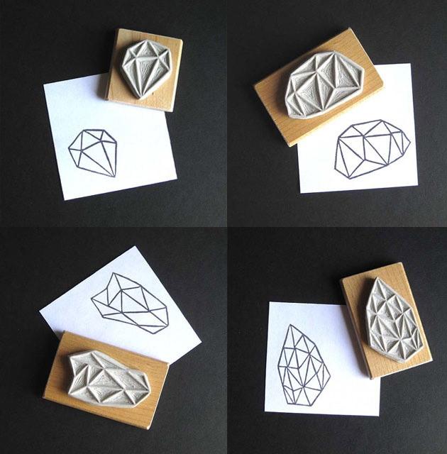 Geometric-handmade-stamps