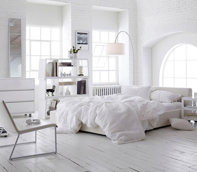 six romantic bedrooms using classic white interiors - Go Make Me