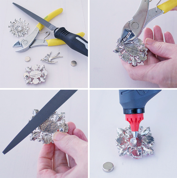 How-to-make-brooches-into-fridge-magnets