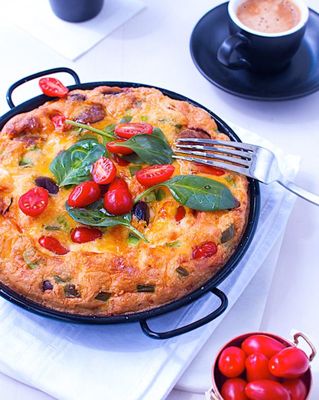 Churizo-omelet