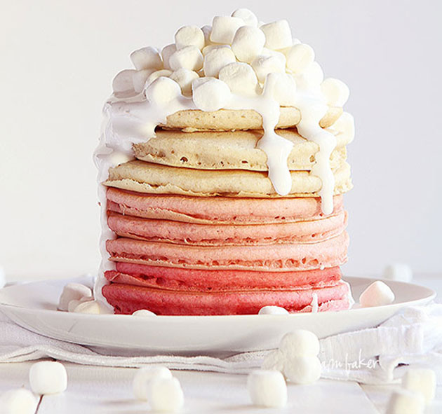 Ombre-pancakes