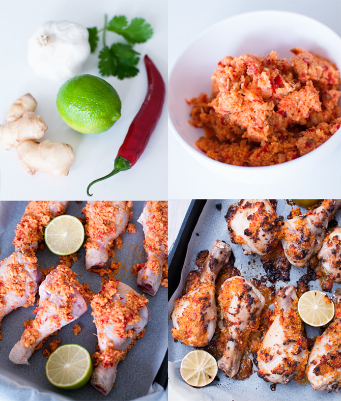 Steps-how-to-make-Chilli,-Ginger-and-garlic-chicken
