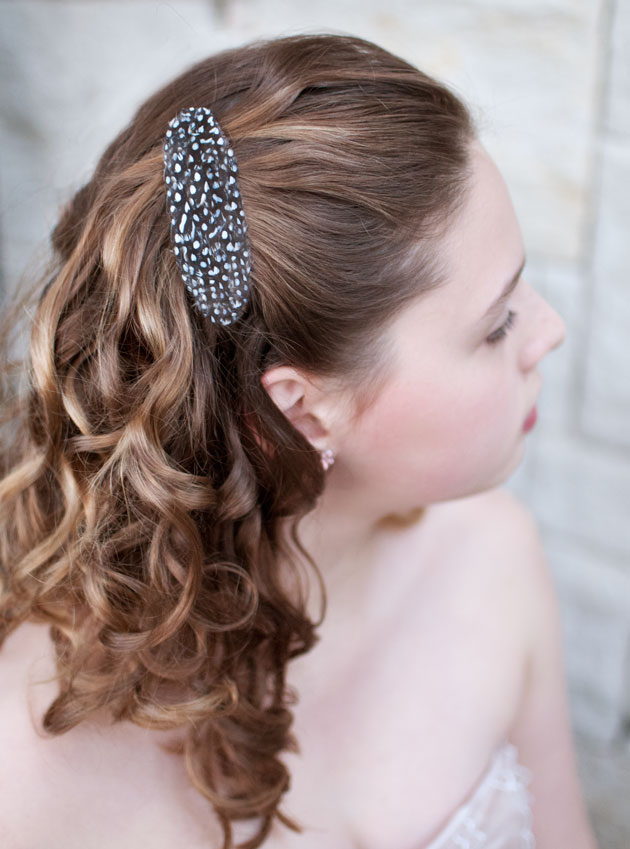 Guinea-Feather-hair-clip-by-Go-Make-Me-blog