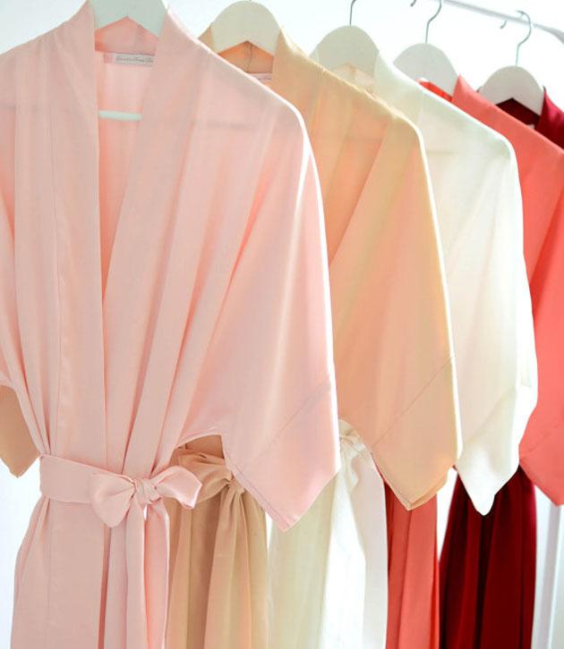Kimono-silk-robes