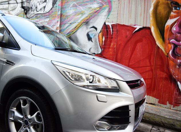 Grafitti-and-front-kuga
