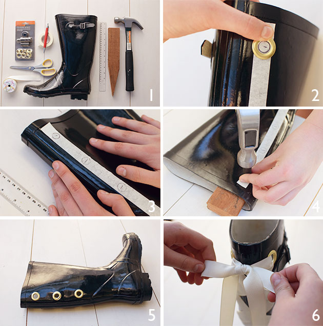 How-to-make-glamourous-gumboots