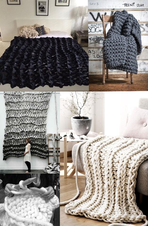 Chunky-knitting
