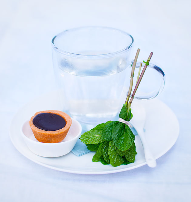 Mint-Tea-using-mint-leaves