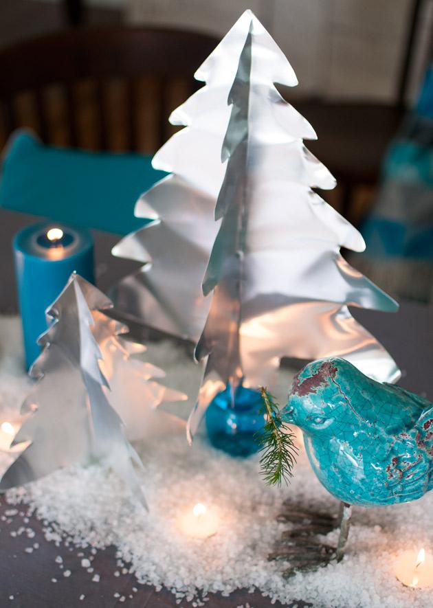 aluminium christmas trees diy - Aluminium Christmas Tree