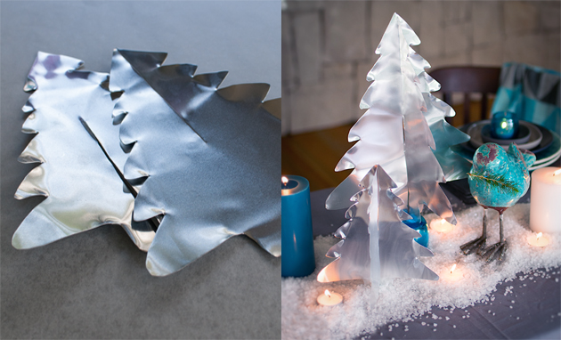 Aluminium 3d Christmas Tree diy